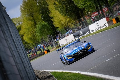 Black Falcon's Engel and Stolz win second Brands Hatch Blancpain race