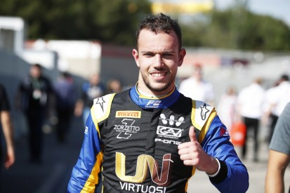 Barcelona F2: Ghiotto takes pole despite complaining of car issue