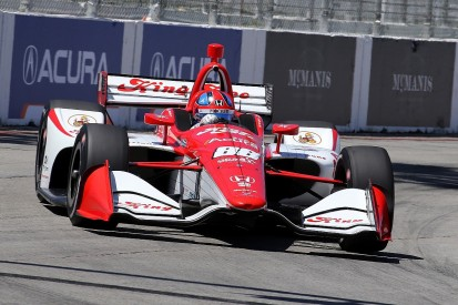 Rookie Herta fastest ahead of Rosenqvist in IndyCar Grand Prix FP2