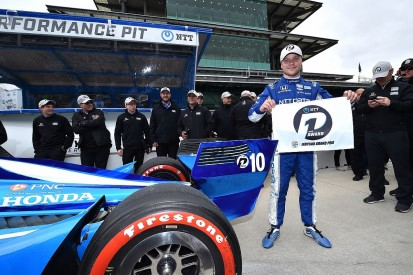 Rosenqvist claims first IndyCar pole at Indianapolis road course