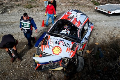 WRC points leader Neuville retires from Rally Chile after accident