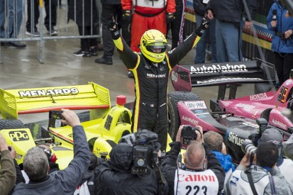 Pagenaud takes first IndyCar win since 2017 in wet Indy GP thriller