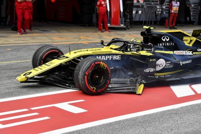 Hulkenberg gets Spanish GP pitlane start after parc ferme breach