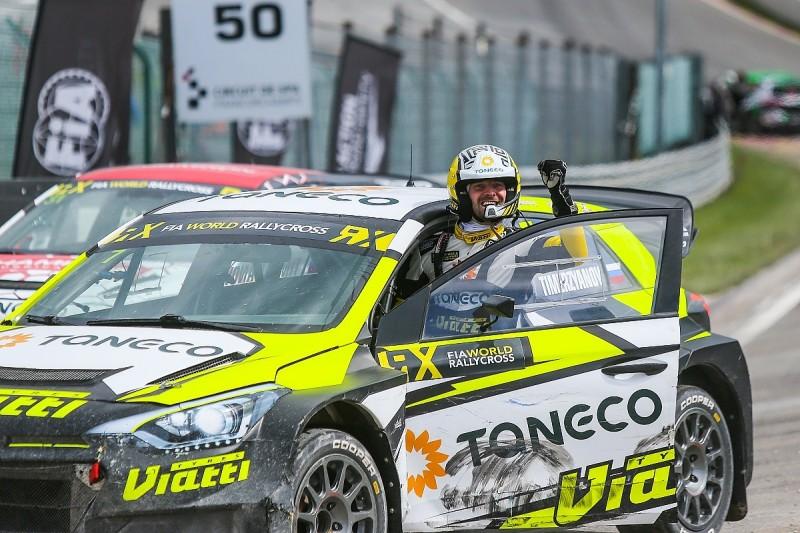 Spa World Rallycross: Timerzyanov gives Gronholm's team first win