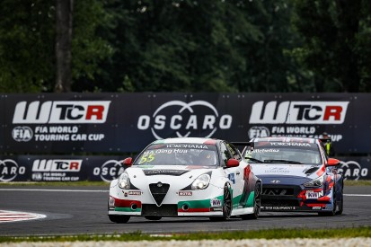 Slovakia WTCR: Ma Qing Hua and new Alfa Romeo get first win