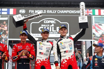 WRC Rally Chile: Tanak wins, Ogier into points lead, Loeb third