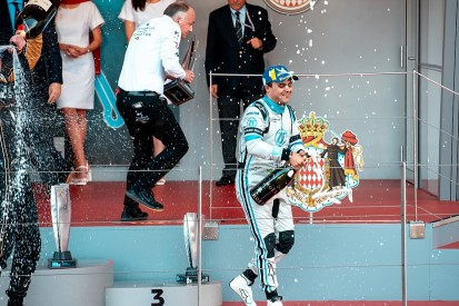 Venturi's Massa out of energy 150 metres from Monaco Formula E finish