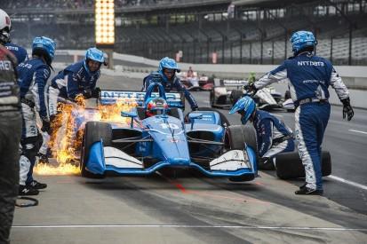 Ganassi's Rosenqvist, Dixon puzzled by lack of grip at Indianapolis