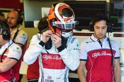 "Alfa F1 test debutant Callum Ilott caught off guard in ""weird"" crash"