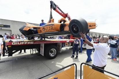 McLaren IndyCar's Fernando Alonso explains Indy 500 practice crash