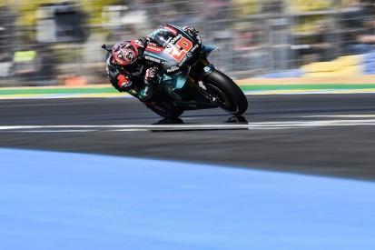 Le Mans MotoGP: Fabio Quartararo fastest in practice one at home