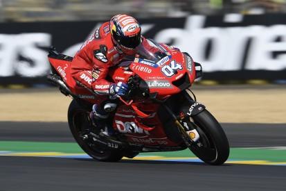 Dovizioso felt he was too aggressive in Le Mans MotoGP practice