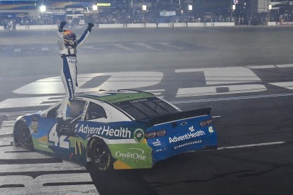 NASCAR All-Star race: Ganassi's Kyle Larson comes from back to win