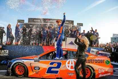 Atlanta NASCAR: Keselowski holds on to give new Mustang first Cup win
