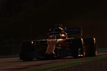 F1 testing: McLaren top despite troubles; Mercedes loses running