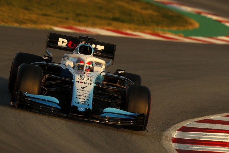 George Russell: Williams's Tuesday F1 test mileage a 'huge relief'