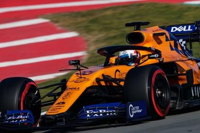 Formula 1 testing: McLaren's Sainz on top, Vettel's Ferrari crashes