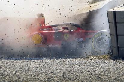 Ferrari changes Barcelona F1 test driving plan after Vettel crash