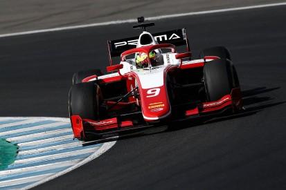 F2 testing: Schumacher tops Jerez day three, sets fastest test lap