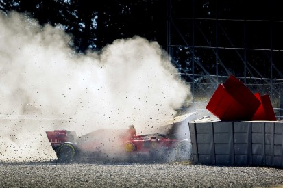 Ferrari will continue to investigate rim failure after test crash