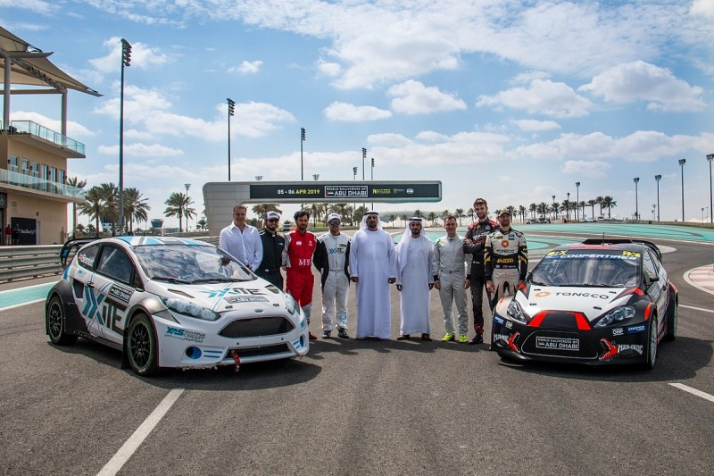 Yas Marina Circuit's World Rallycross layout for 2019 opener revealed