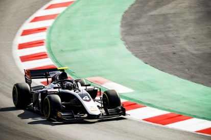 Barcelona F2 test: Nyck de Vries leads day one for ART