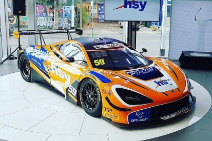 New McLaren 720S GT3 set for customer debut as part of GP support