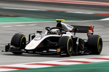 De Vries dominates last day of Formula 2 test for ART in Barcelona