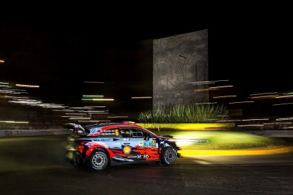 WRC teams angry over 'dangerous' Rally Mexico opening stage jump