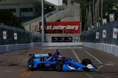 St Petersburg IndyCar: Rosenqvist tops practice one, Ericsson third