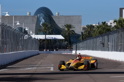 St Petersburg IndyCar: Ryan Hunter-Reay ends Friday practice on top