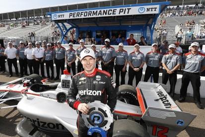 St Petersburg IndyCar: Power leads Newgarden in Penske front row
