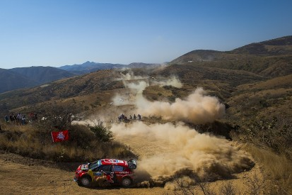 WRC Rally Mexico: Ogier escapes scare to lead, Tanak catches Evans