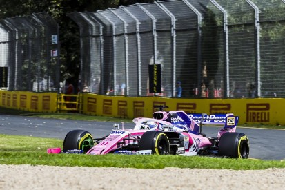 Racing Point introduces F1 upgrade package at Australian GP