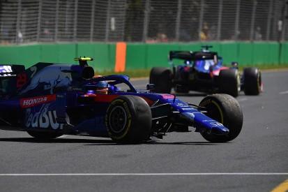 Albon: Australia FP1 crash result of inexperience, 'too hot' tyres