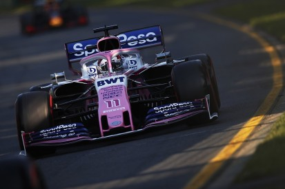 Perez: Racing Point's Australian GP F1 upgrade not working as hoped