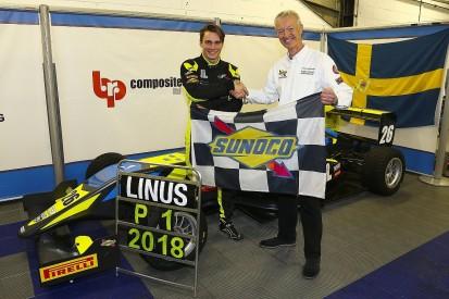 BRDC British F3 champion Linus Lundqvist to Euroformula Open