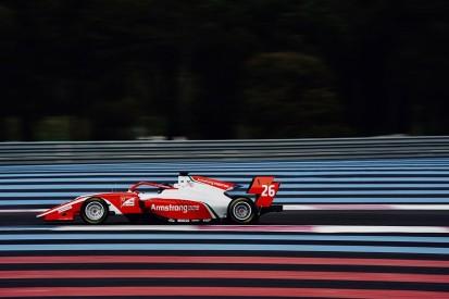 Ferrari junior Marcus Armstrong fastest as FIA F3 testing starts