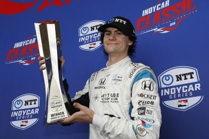 IndyCar's Herta not 'super-confident' on race-winning key restart