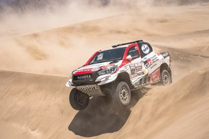 Fernando Alonso will test Toyota's Dakar car in South Africa