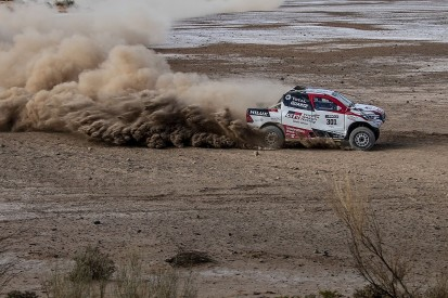 Dakar-winning Toyota 'feels incredible' says Alonso after testing