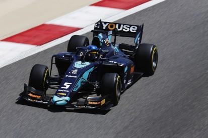 Bahrain F2: McLaren F1 junior Sette Camara tops practice for DAMS