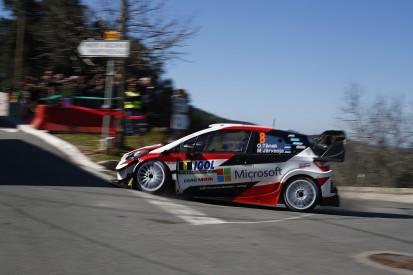 WRC Tour of Corsica: Tanak leads Evans, dramas for Ogier and Loeb