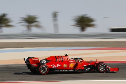 Bahrain Grand Prix: Charles Leclerc leads Ferrari practice one-two