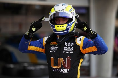 Bahrain F2: Luca Ghiotto on pole for rebranded Virtuosi team
