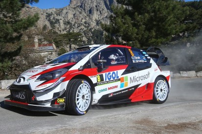 WRC Tour of Corsica: Tanak snatches lead back from Evans on Saturday