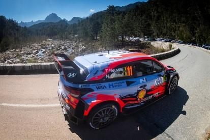 WRC Tour of Corsica: Neuville leads overnight after Tanak drama