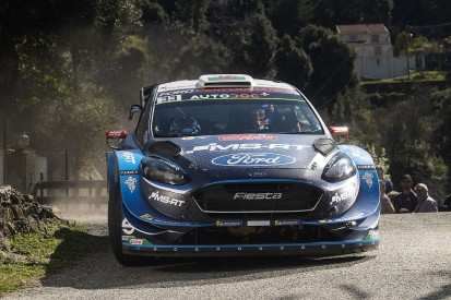 WRC Corsica: M-Sport's Evans snatches late Corsica lead from Neuville