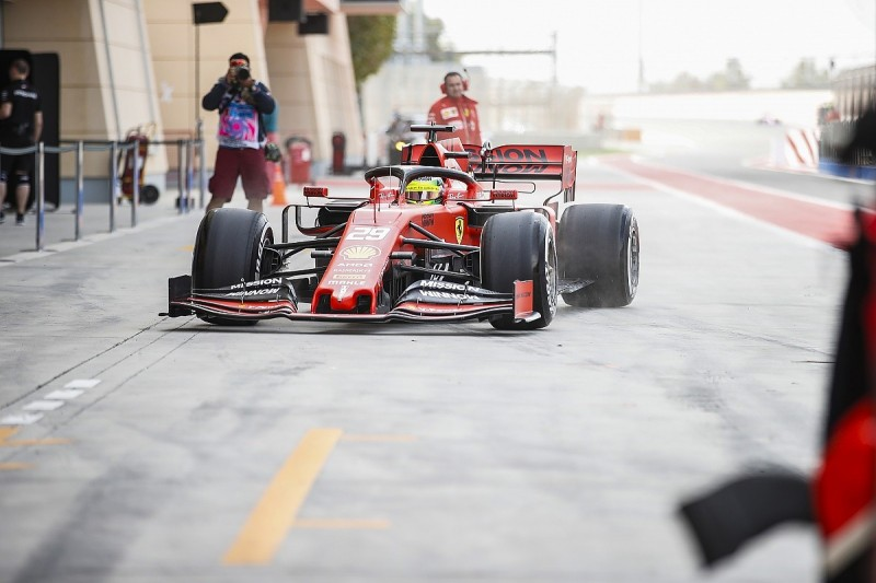 Mick Schumacher and Fernando Alonso begin Bahrain F1 test