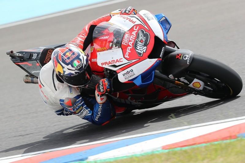 Jack Miller not on 'ragged edge' with '19 Ducati MotoGP bike switch